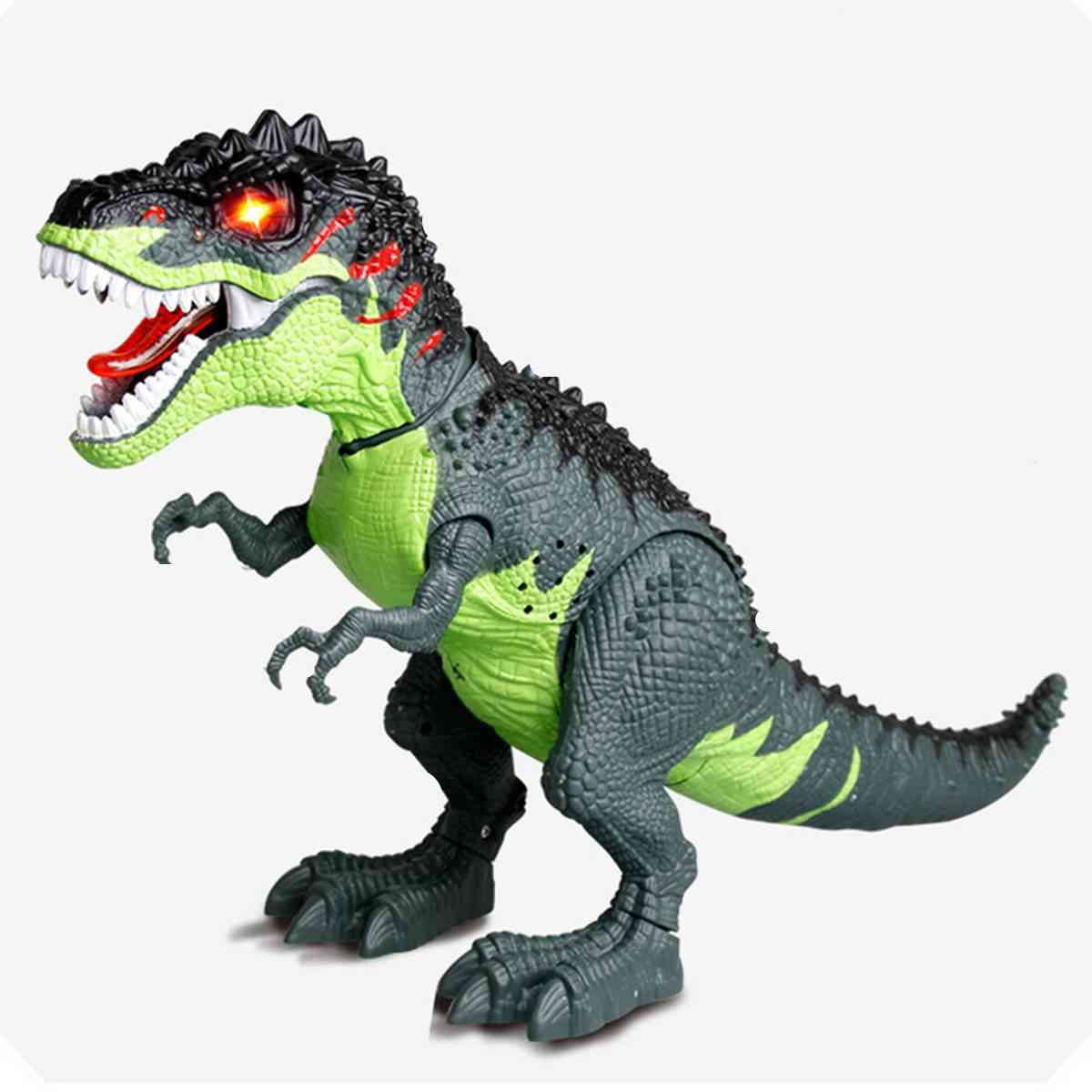 Electric Water Spraying And Egg Laying Dinosaur-action Toy