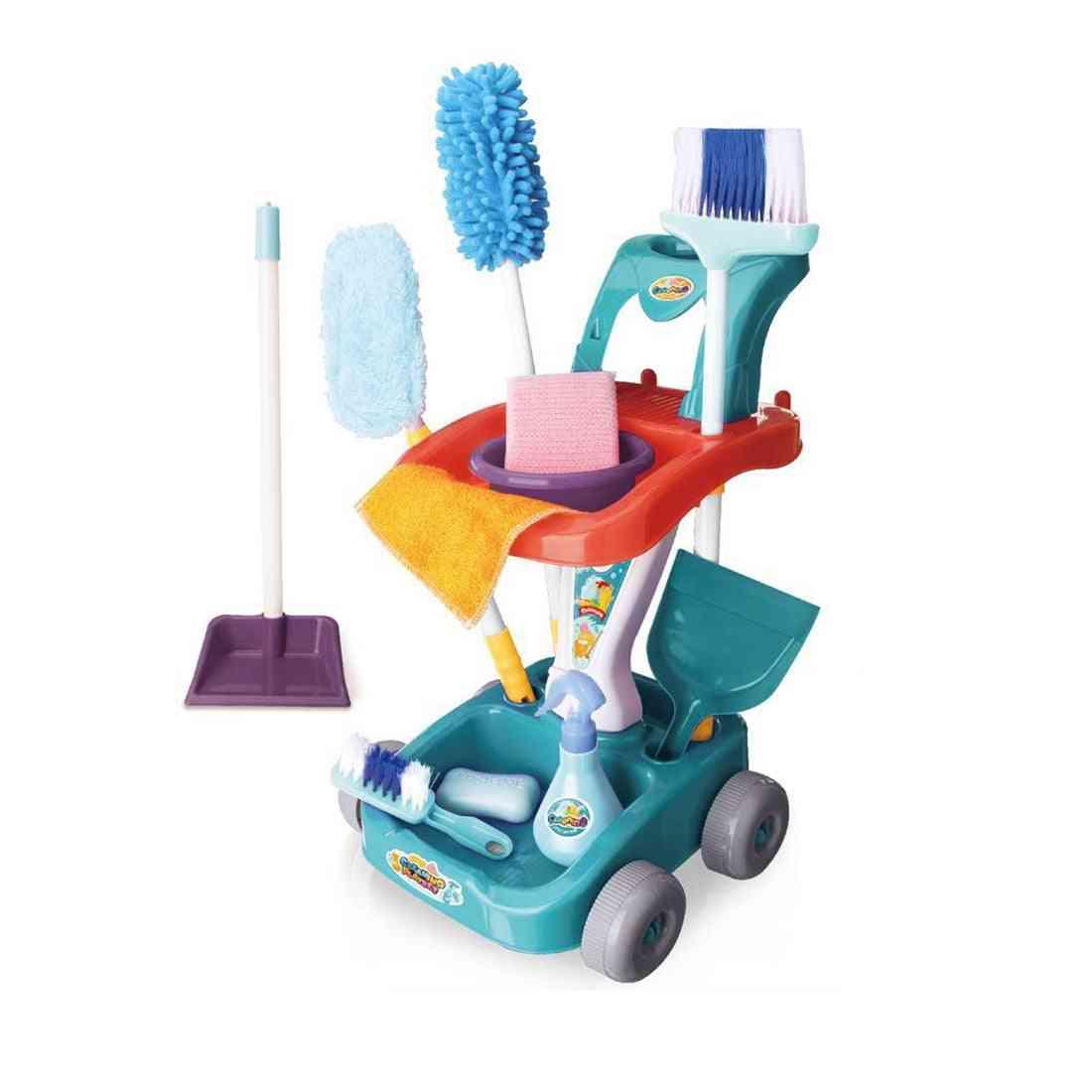 Children Pretend Play Simulation Cleaning Set
