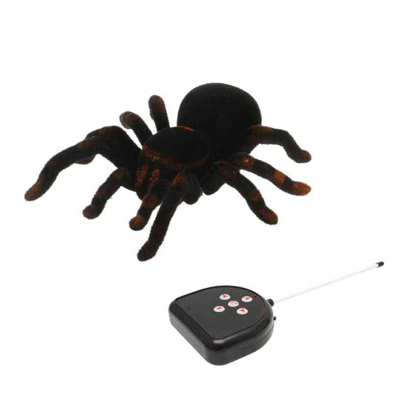 Remote Control Soft Scary- Creepy Spider Toy