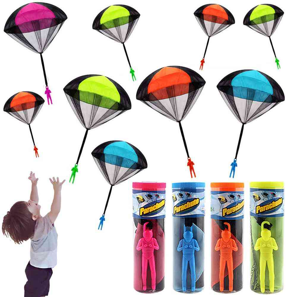 Hand Throwing Mini Soldier Parachute Toy For Kids