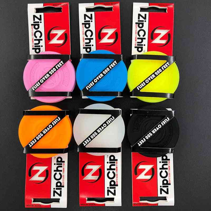 Mini Pocket Zip Chip Flying Disc, Soft Outdoor New Spin In Catching Game