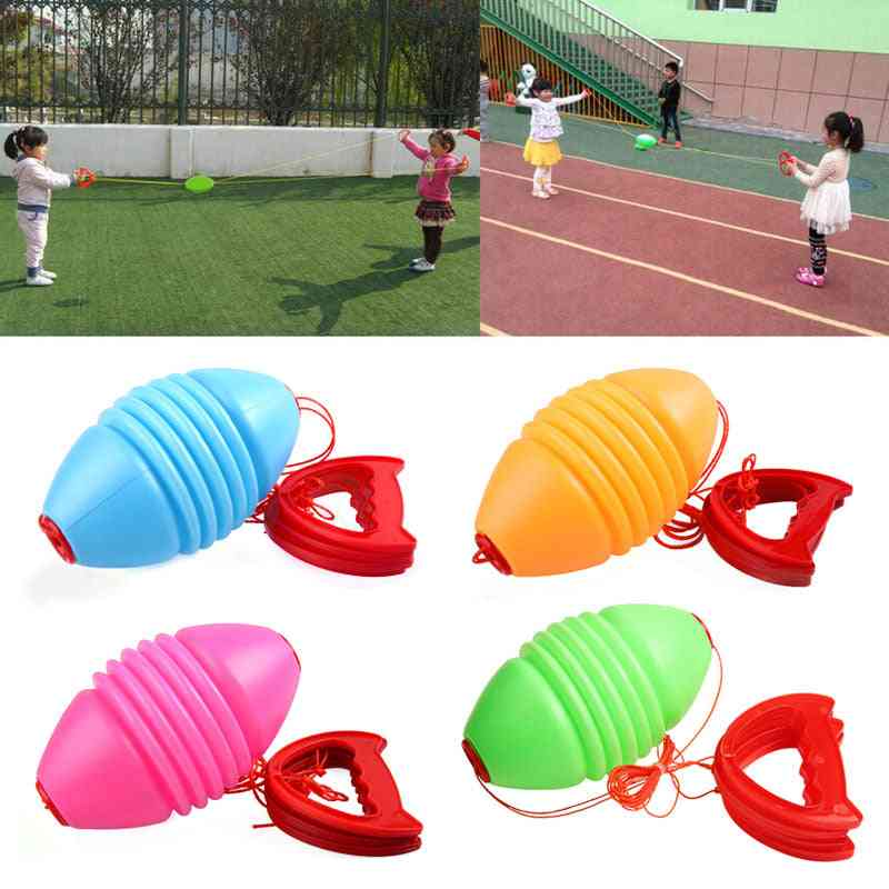 Jumbo Speed Throw And Pulling Ball Toy For Kids
