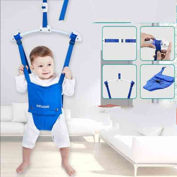 Adjustable Baby Bouncing Door Frame For Exercise And Fun