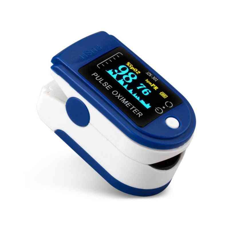 Finger Clip Oximetry, Heart Rate, Blood Pressure, Monitor Fingertip Pulse Meter Without Battery - Health Care