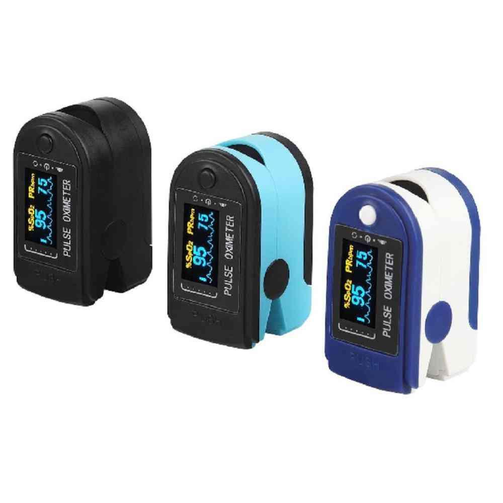 Finger Pulse Oxygen Saturation Monitor Blood Oximeter- Health Care