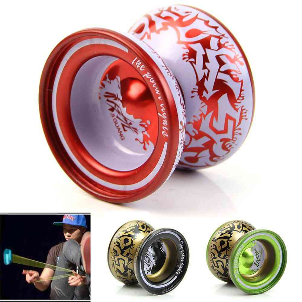 Magnetic Aluminum Alloy Yoyo Ball Bearing String-professional Playing Toy
