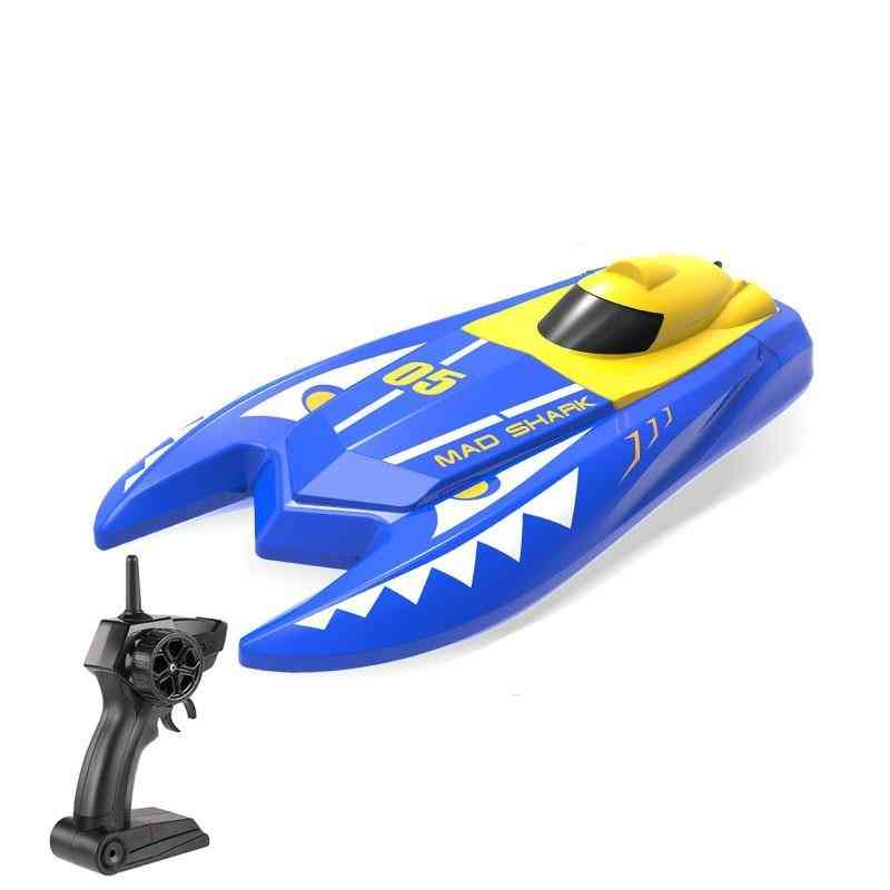 Remote Controlled Mini Speed Boat With Dual Motors - Electric Kid's
