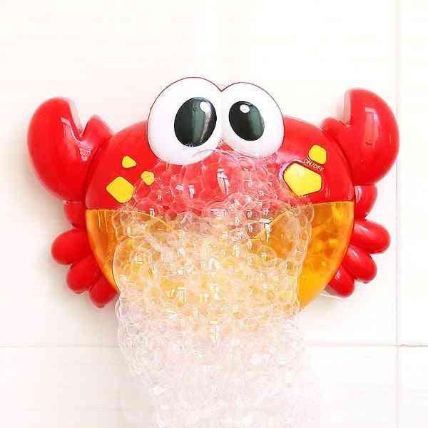 Cute Animal Design, Automatic Bubble Blower-bath For Kids