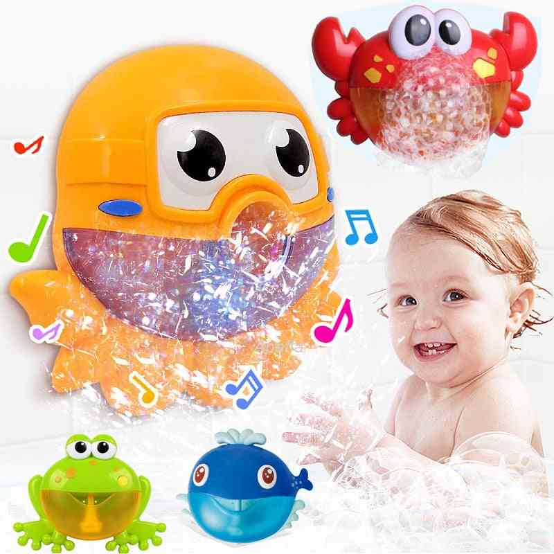 Baby Bath, Automatic Bubble Machine Toy For