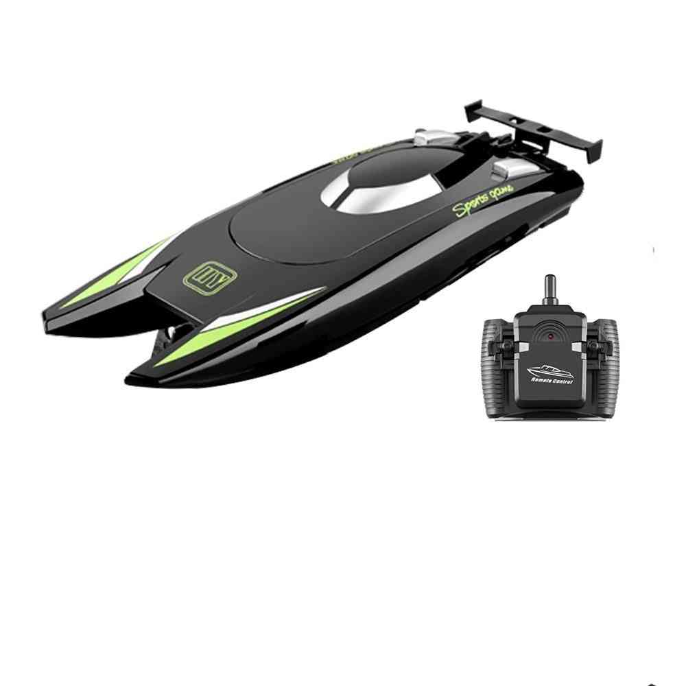 High Speed Racing Boat With 2 Channels -dual Motor Remote Control Boats