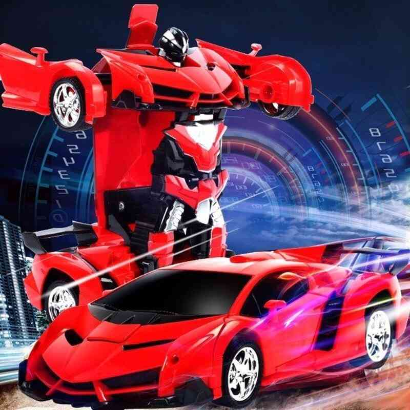 Transformation Rc Car, Sports Driving Deformation  Car -children