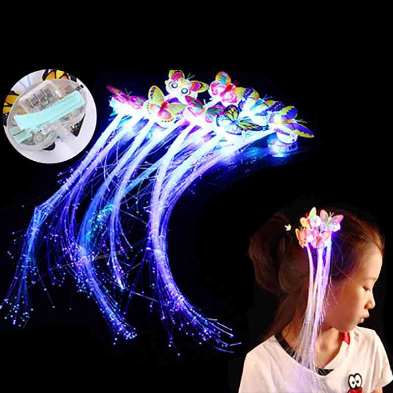 Fiber Headband, Girl Light Wigs Butterfly Hair Accessories