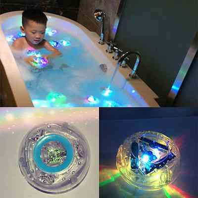 Waterproof Led Light Toy For Kids Bath Time