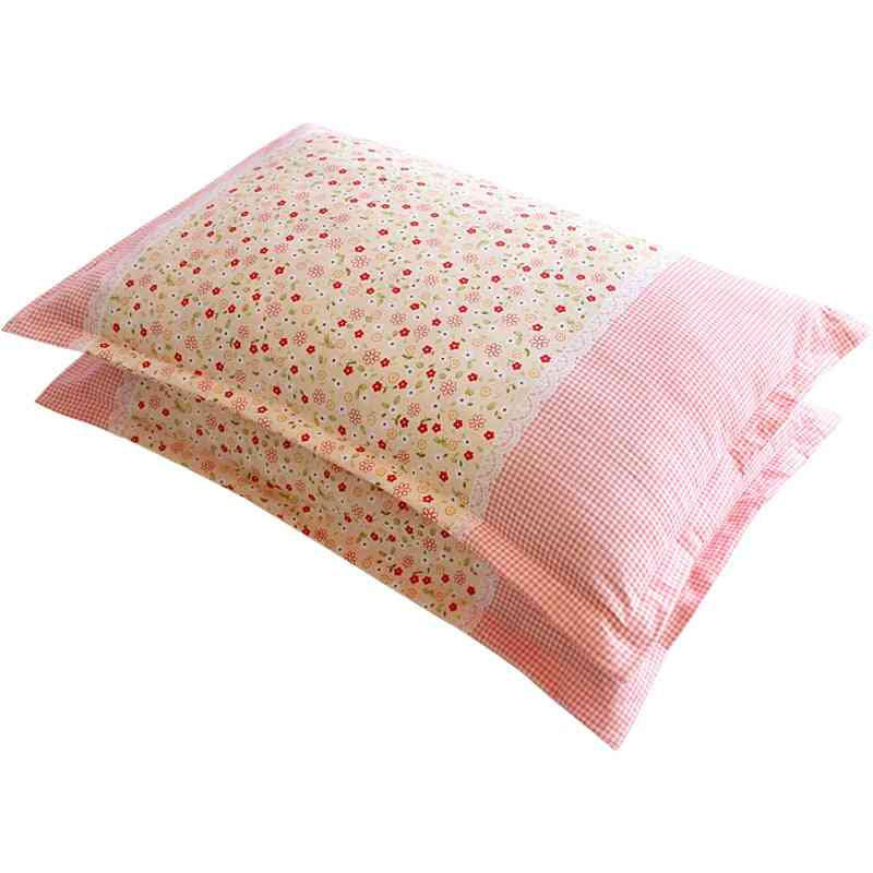 Universal Cotton Dust Proof Pillow Protection Cover - Lovely Pillowcase