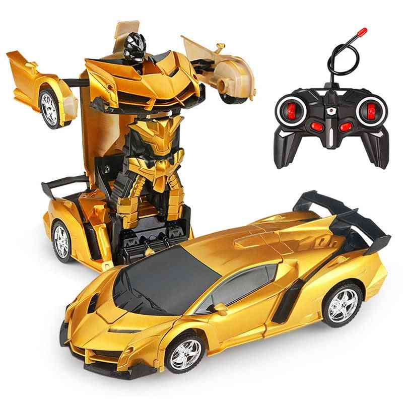 Remote Control Transformation Sports Car