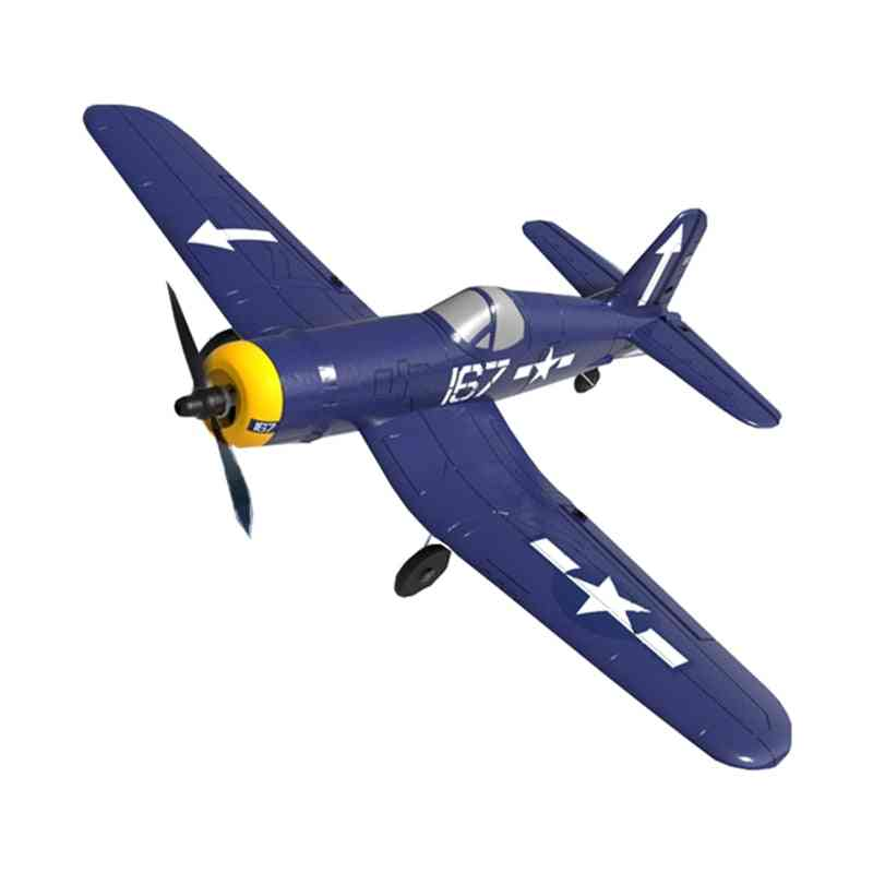 Epp One-key Aerobatic Rc Airplane With 2.4ghz 4ch Remote Control
