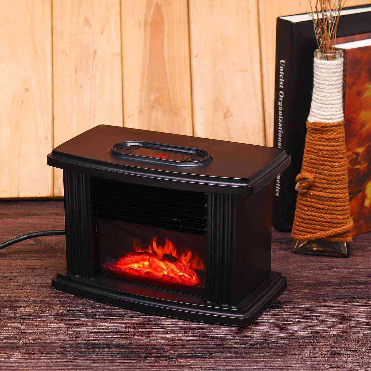 Portable Electric Fireplace Stove Heater