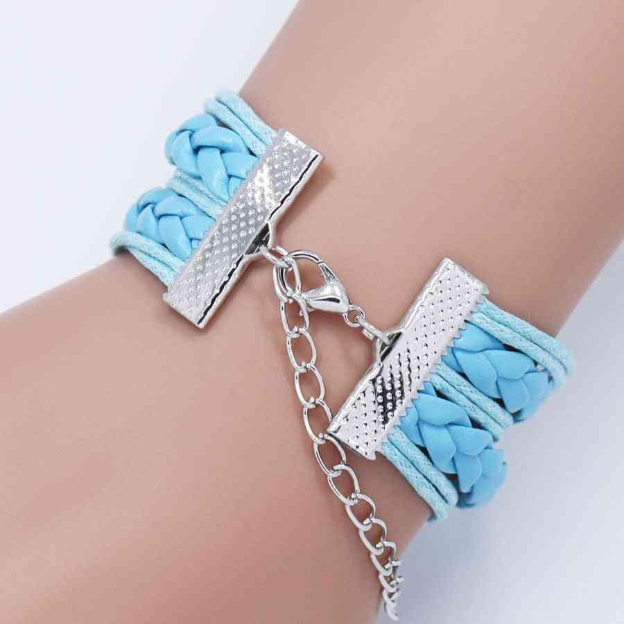 Princess Cartoon Bracelet Action Figure For Lovely Wristband Girl