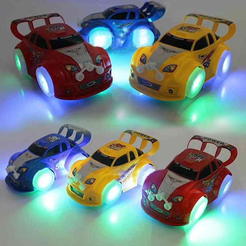 Light Up Automatic Steering Musical, Electric Sports Model