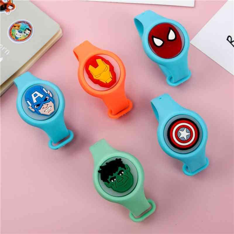 Original Marvel Avengers Anime Cartoon Toy - Captain America, Hulk, Iron-man & Spider-man