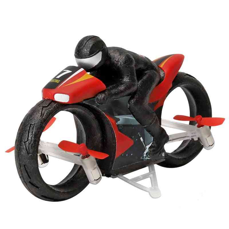 2.4g Remote Control, Led Four-axis Aircraft Motorcycle Toy For Kid