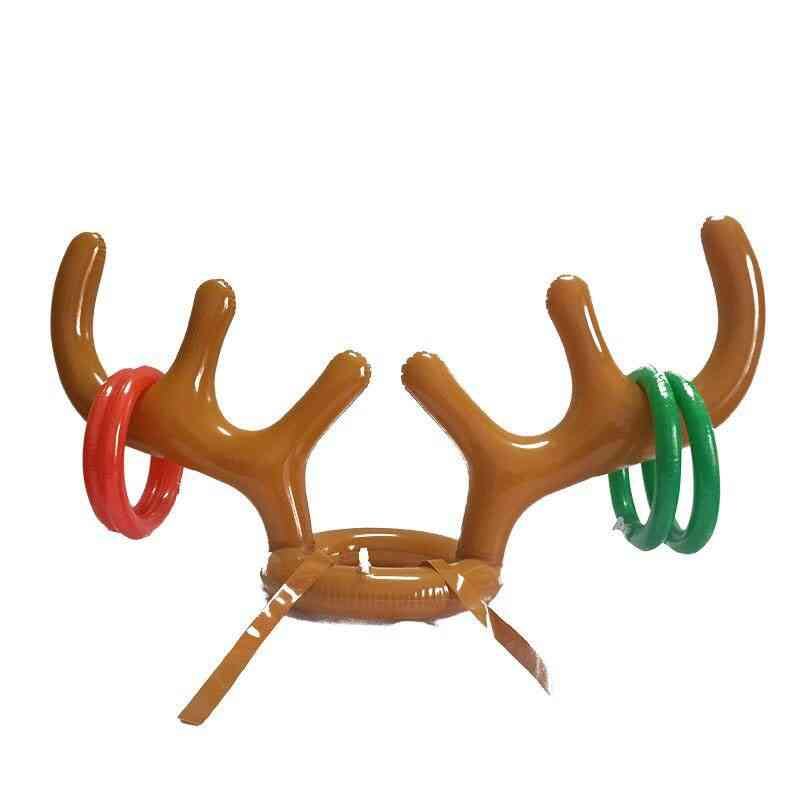 Reindeer Antler Hat-ring Toss For Christmas/holiday-party