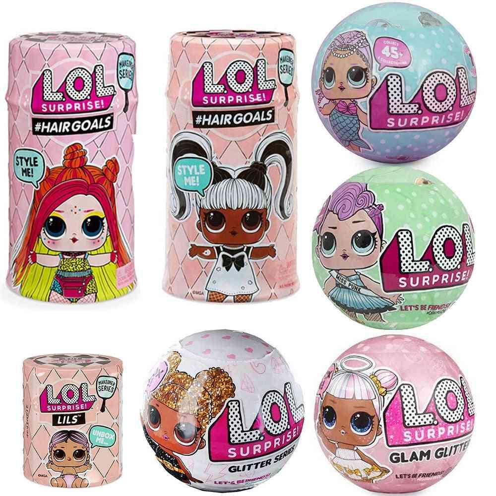 New Big Glitter Unpacking Original Lol Dolls