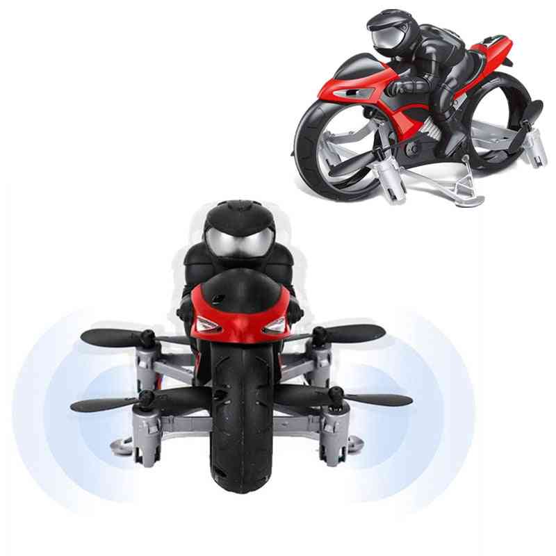 2.4ghz Flying Motorcycle- Remote Control Quadcopter For