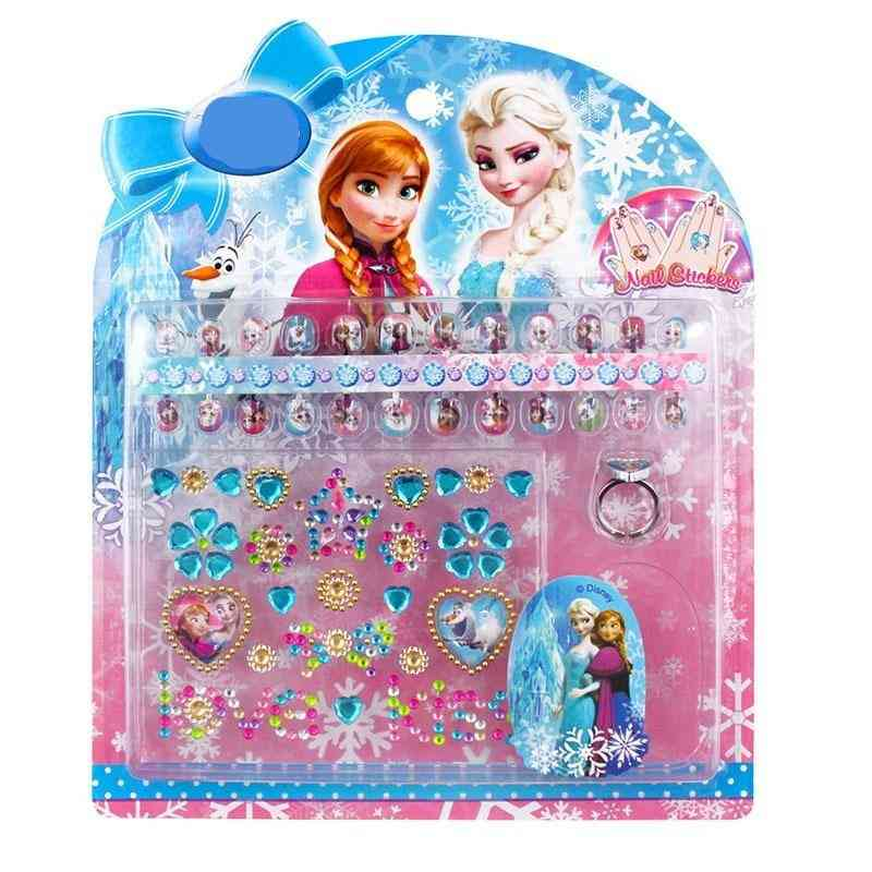 Three-dimensional Nail Stickers For Kids