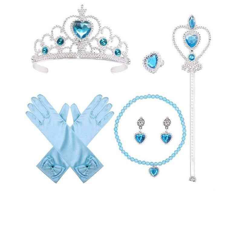 7pcs/lot Baby Accessories-dress Up Jewelry Set