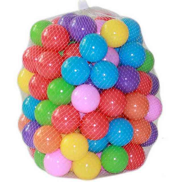 5.5cm Colored Marine/ocean Ball For Swimming