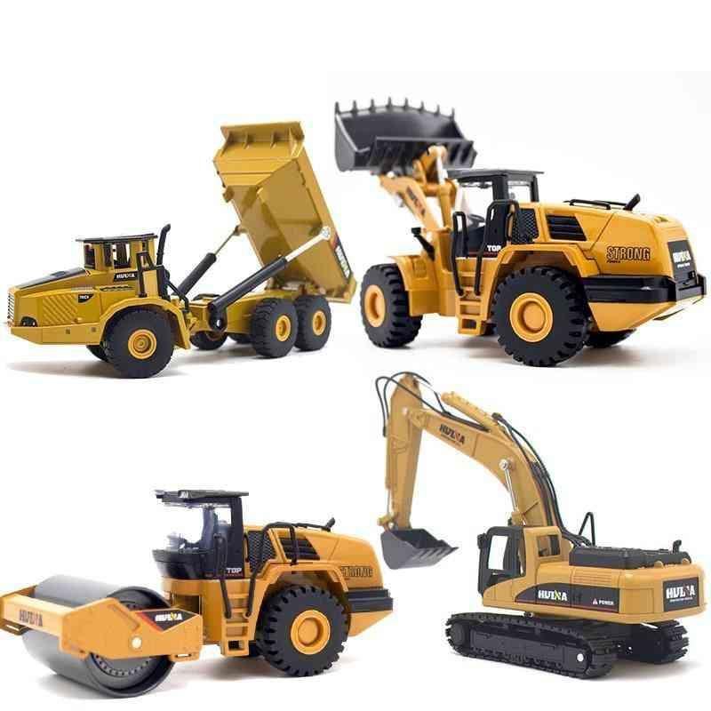 1:50 Dump Truck, Excavator, Wheel Loader Model- Construction Vehicle