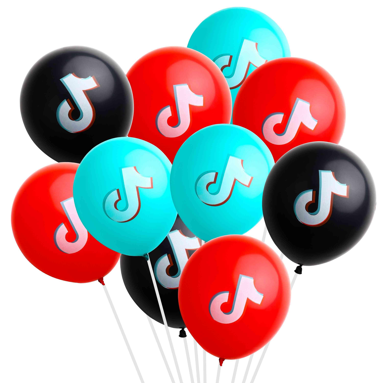 Tik Tok Theme Balloon For Birthday Party Decoration