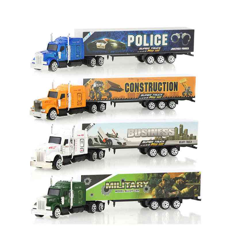 Sliding Alloy Container Truck Model-multi Color Vehicles For