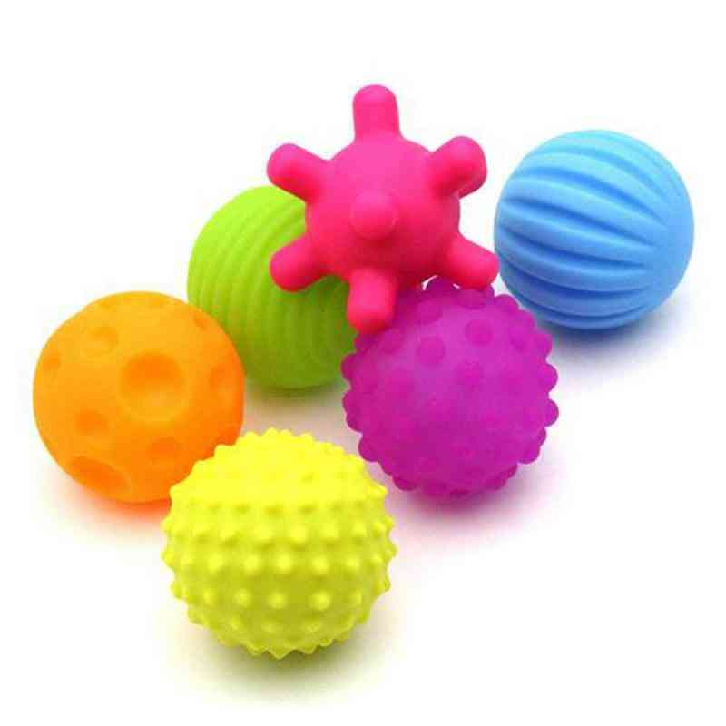Rubber Ball Set-tactile Senses, Stress Training For Newborn