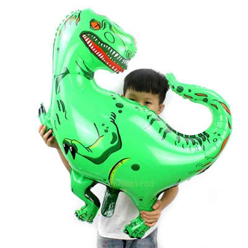 Dinosaur Shape Aluminum Foil -ballons
