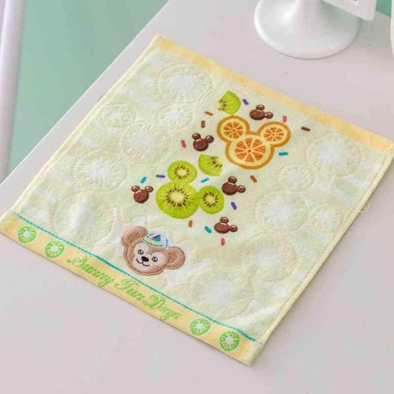 1pc  Soft Cartoon Design, Cotton Towel
