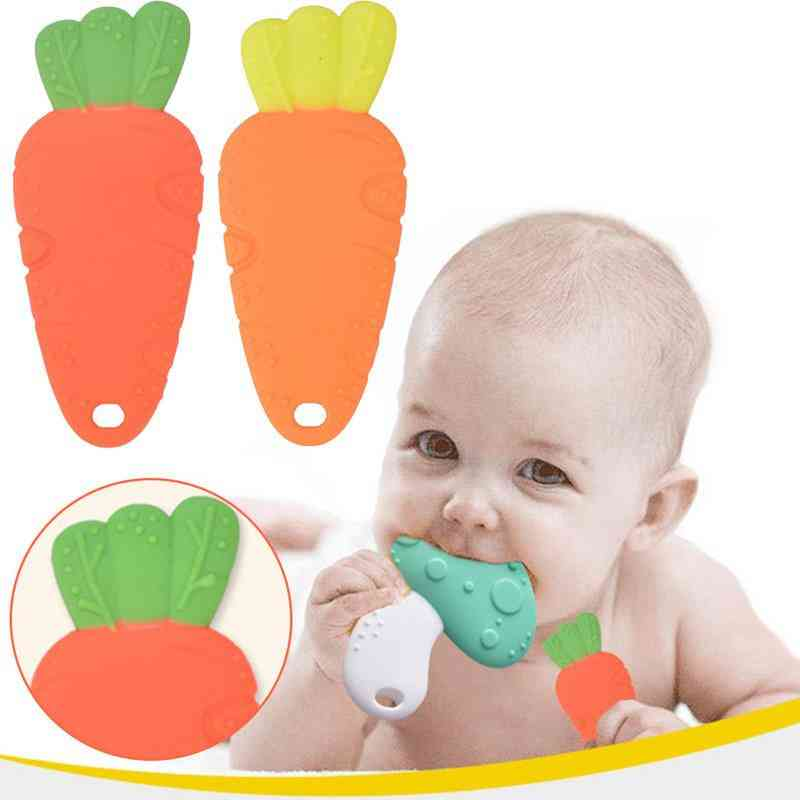 Food Grade Silicon Teething Chewing Sticks For Babies Oral Care