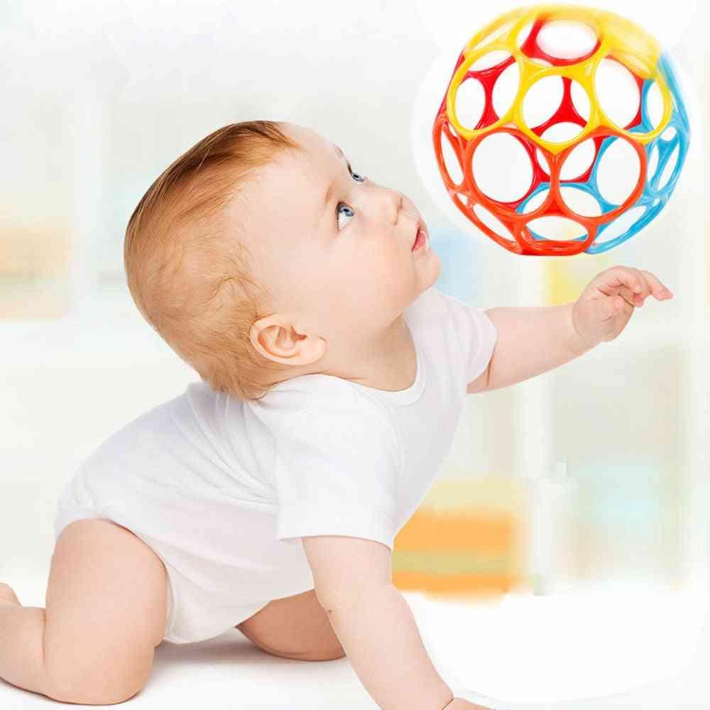 Children Pliable Grasping Bell Ball