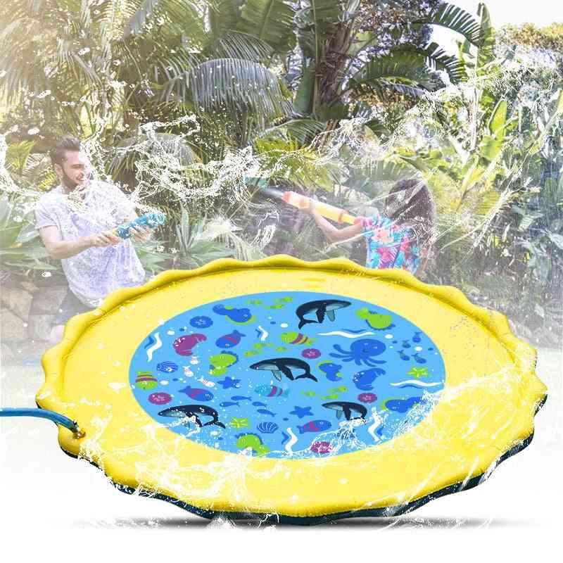 Summer Water Sprinkler Mat Outdoor Lawn Game Pads