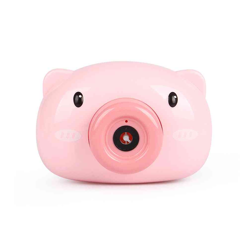 Automatic Cartoon Animal Design Camera-soap Bubble Maker