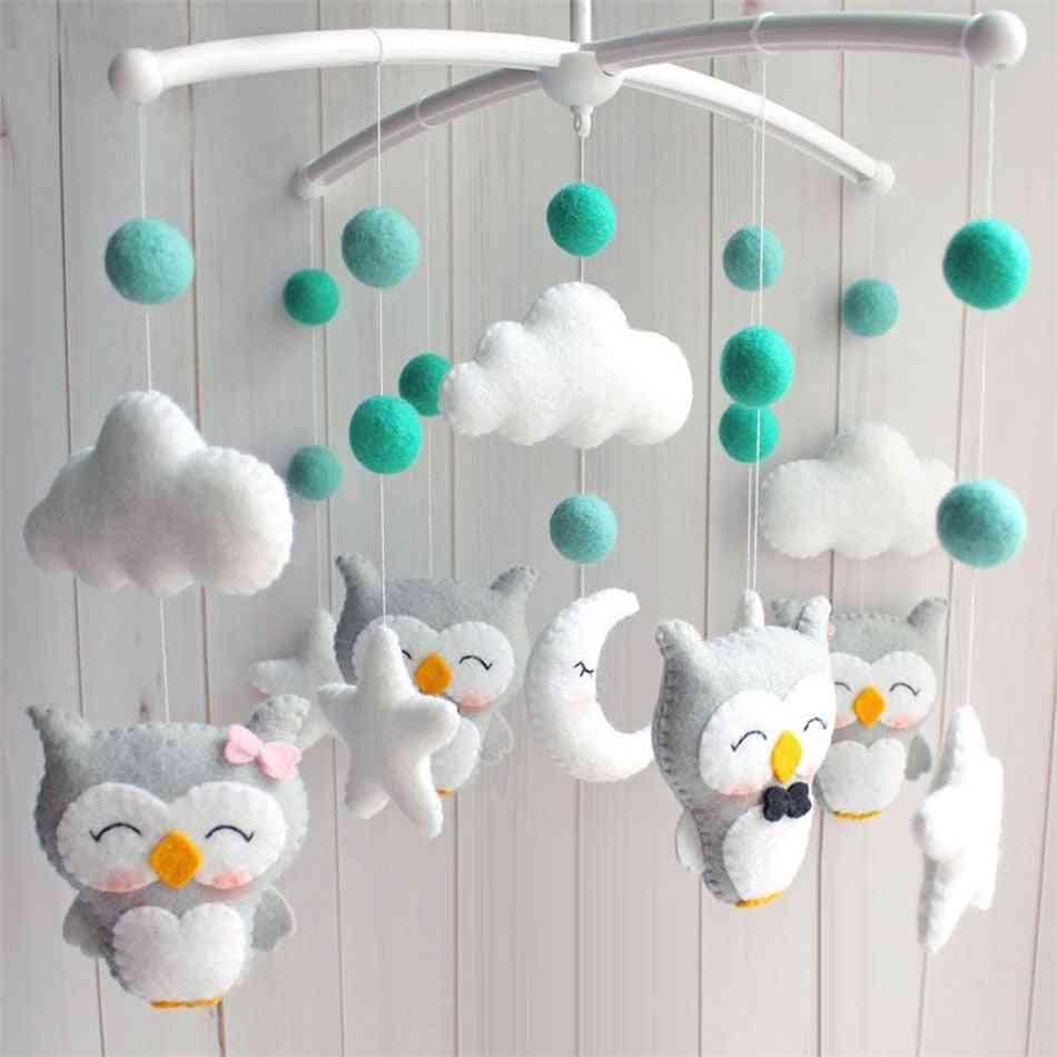Baby Mobile Rattles, Newborn Crib Bed Bell Oyuncak Toddler