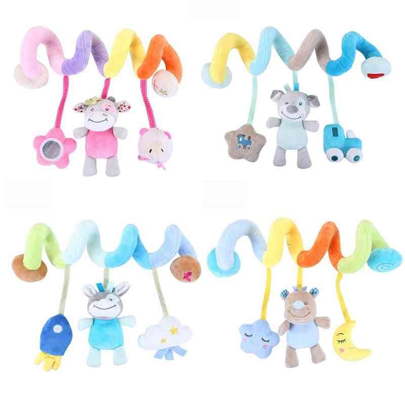 Soft Baby, Music Crib Stroller Hanging Spiral Sensory Educational Toy
