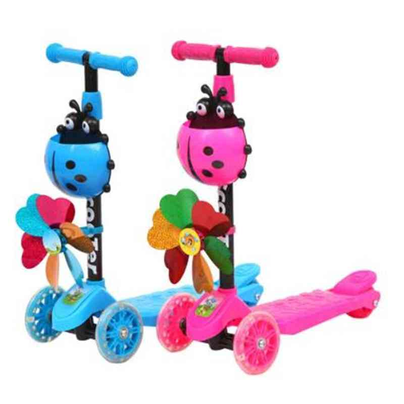 Children's 3 In 1 Balance Bicycle, Ride On Kick Tricycle Scooter