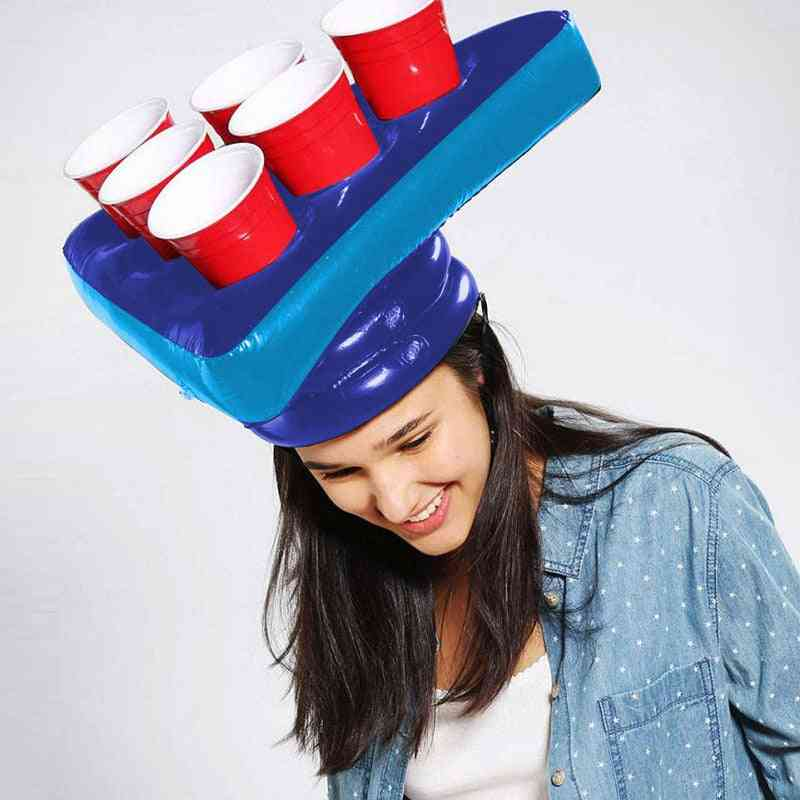 Inflatable Party Hat For Game, Fun