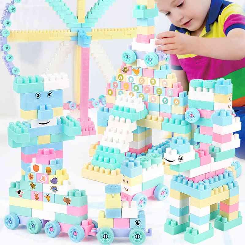 Marble Race Run Maze Ball Track -building Blocks Toy