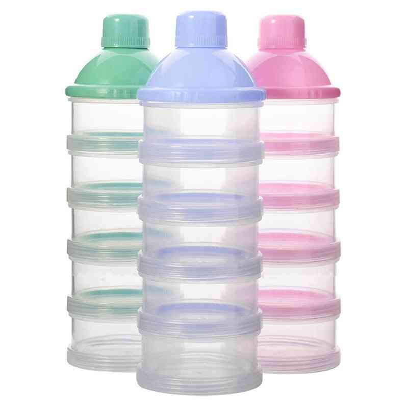Portable Milk Dispenser Container, Feeding Boxes For Baby