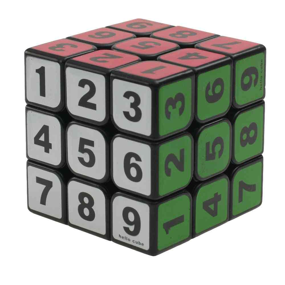 Number Puzzle Cube-educational Toy/adults
