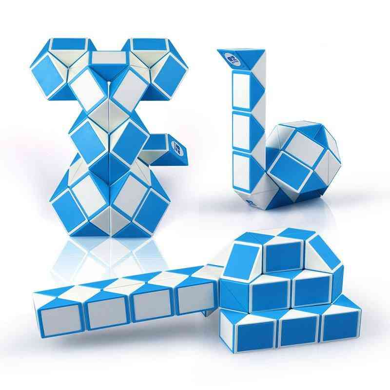 24/36 Segment, Snake Twist Cubes Puzzle For