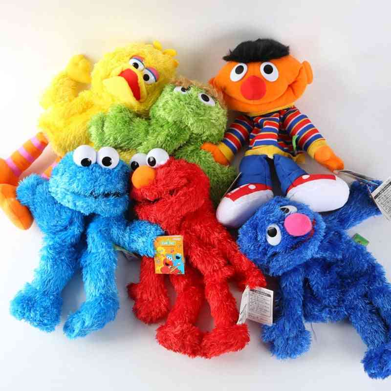 Cartoon Sesame Street Hand Puppet Doll, Large Soft Toy For, Kids